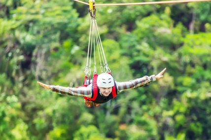 Flying Fox Adventure in Rishikesh / By Krishna Holidays