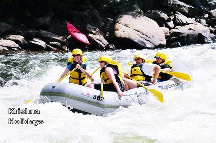 Rishikesh White Water River Rafting