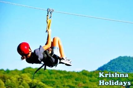 Longest Zipline in Rishikesh / Krishna Holidays