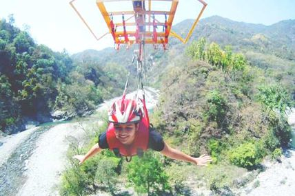 Asia Longest Flying Fox in Rishikesh