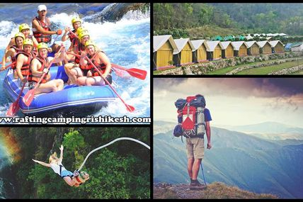 Rishikesh Adventure Activities / By Krishna Holidays
