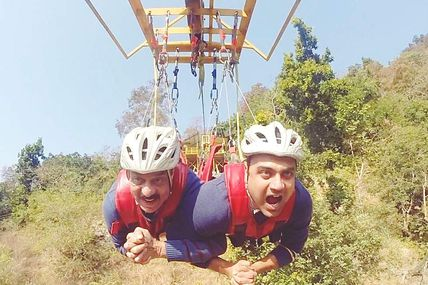 Rishikesh: Flying Fox Adventure