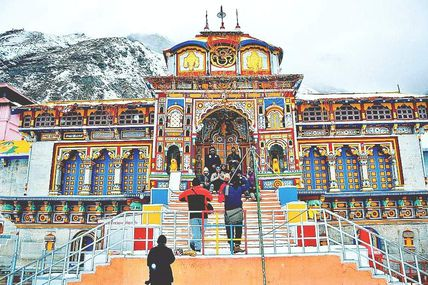 Badrinath Temple will open on 06 May 2017