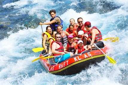 Rishikesh also called Rafting capital of India