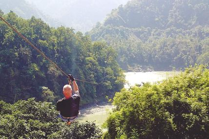 Zipline Activity Adventure in Rishikesh
