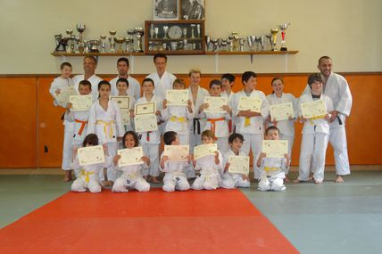 Passage de grades au Judo club de Boussens en Comminges