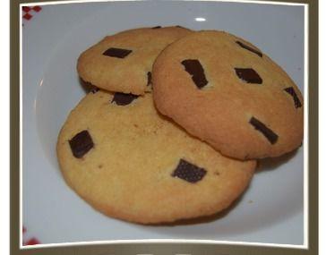 Cookies aux pépites de chocolat et fleur de sel