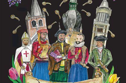 Ridders en Dames gentes de Yaroslavl prinsen zullen Komen have voor de Emmers partijen 8/9/10 in oktober