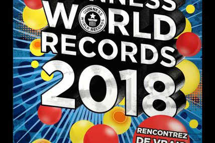 Sortie des Guinness World Records 2018