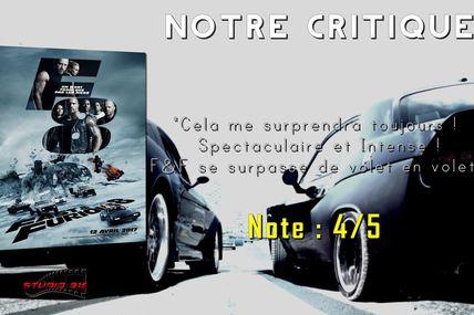 Notre Critique : FAST AND FURIOUS 8 (SANS SPOILERS, JUSTE AVIS)