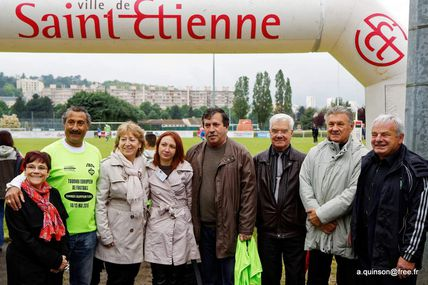 FOOTBALL  / Tournoi national des sections Handi supporters à Saint-Etienne 2ème  journée dimanche 14 mai 2017 : Brigitte MASSON