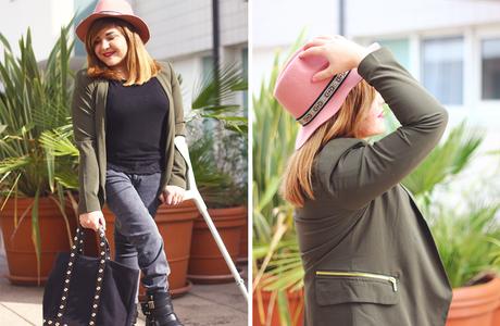 """Look """"Mon petit chapeau rose"""" ♥"""