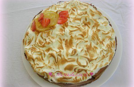 Gâteau au citron, fraise et huile d'olive de Pierre Hermé
