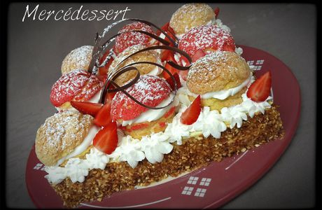 Le gâteau Caroline (revisité)