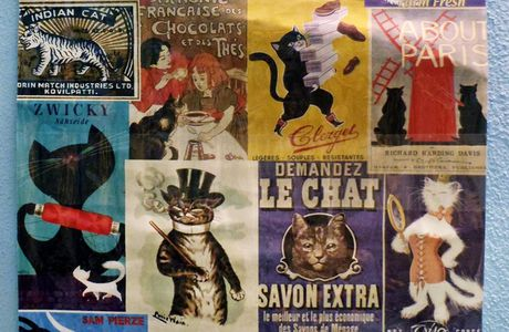 PRESSIE: Le Chat Poster
