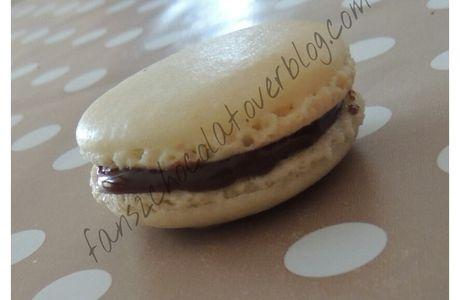 Macarons Vanille Chocolat au lait