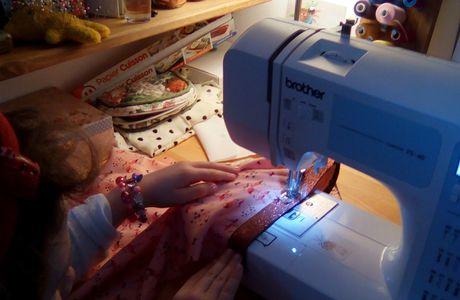 Kit couture pour petites couturières en herbe