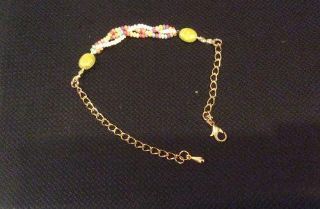 Bracelet en perles de rocaille