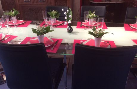 "Deco de table ""muguet"""
