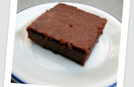 Gâteau moelleux chocolat - tofu soyeux
