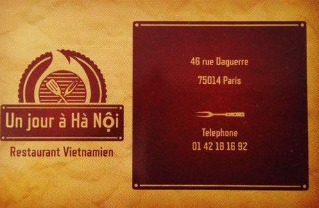 Petite virée indochinoise, Un jour à Hà Nôi !