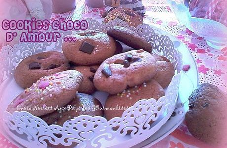 COOKIES CHOCO D'AMOUR