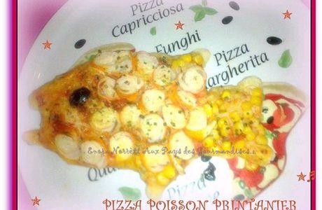 Mes Pizzas Poissons Printaniers