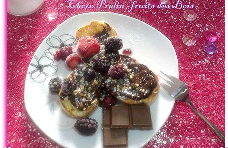Pain Retrouvée Choco Pralin & Fruits Des Bois