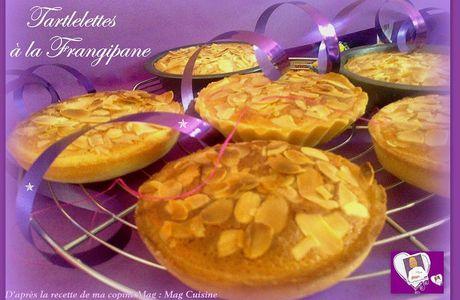 Tartelettes à la Frangipane
