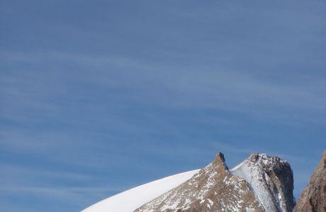 La Chevauchée des Vacheskirippes, Grand Pic de la Meije 3983m.