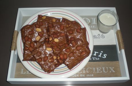 BROWNIES AMANDES
