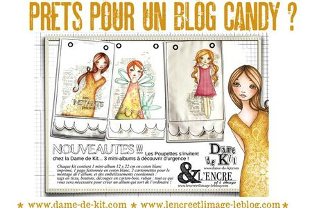 blog candy chez Dame de kit et l'encre et l'image