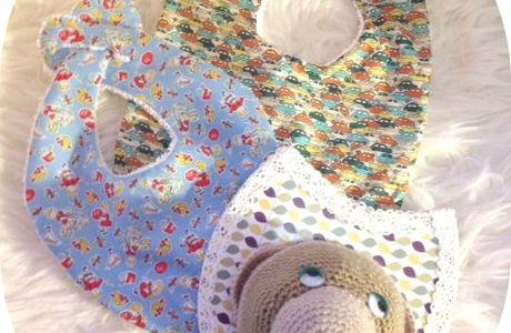 Couture et crochet pour bébé.