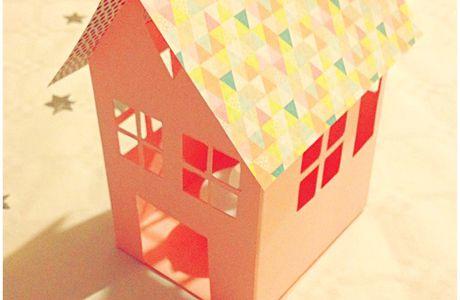 Mes petites maisons en papier. D.I.Y.