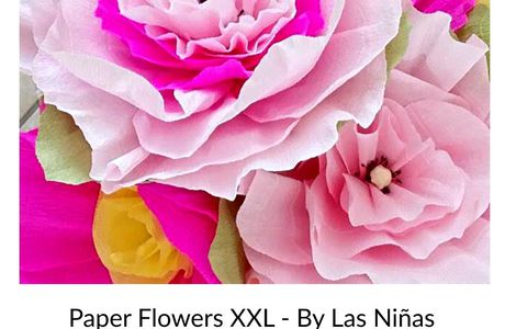 Paper FLOWERS XXL - D.I.Y.