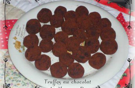 Les truffes au chocolat {Cadeau gourmand}