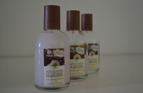 ... le parfum à la noix de coco