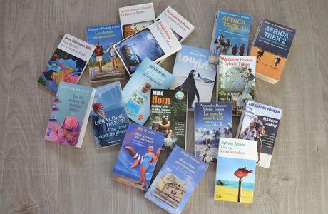 ... les livres d'évasion qui donnent envie de partir loin, très loin...