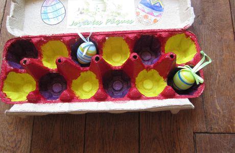 Boîte à Oeufs de Pâques