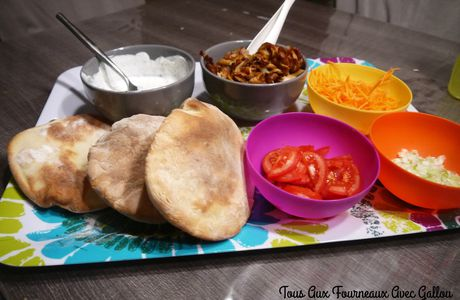 Pains Pita (Thermomix)
