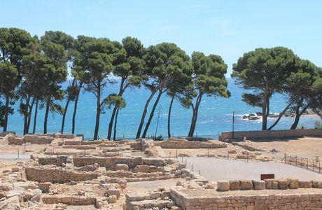 Les ruines gréco- romaines d'Empuries