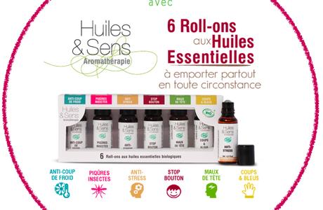 CONCOURS NOËL #1 : Huiles & Sens