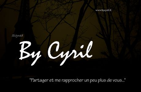 By Cyril, tout simplement...