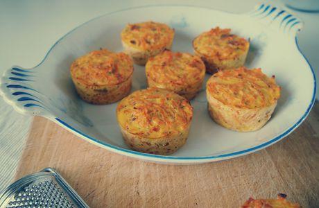 Petits flans carottes tomates