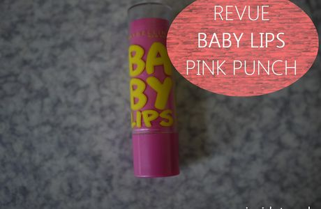Swatches & avis Baby lips Maybelline - Pink punch