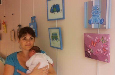 Un beau bébé a vu le jour un 31 juillet ! :o))