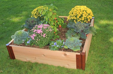 Raised Garden Beds: Cause Style & Flowers Go Together