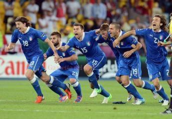 FORZA AZZURRI: l'Italia batte l'Inghilterra per 2:1