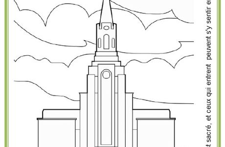 Primaire 7 - Leçon 8 - Jésus-Christ purifie le temple.