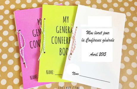 185 ème CONFERRENCE GENERALE  - AVRIL 2015 - Livrets pour les enfants